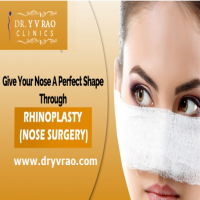 Best Nose Surgery in Hyderabad Rhinoplasty Cost  Dr Y V Rao Clinics